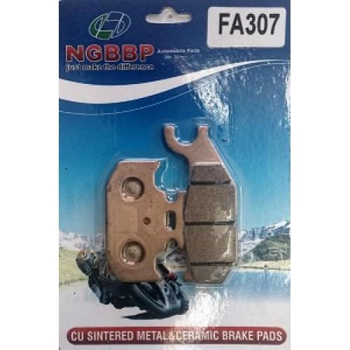 Тормозные колодки NGBBP для BRP G1 705600398 705600350 FA307