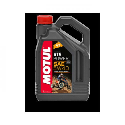 Моторное масло синтетическое Motul ATV Power 5W40 4T (4литра)