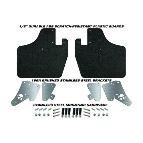 Комплект брызговиков /защита продольных рычагов Can-Am Maverick X3/ Polaris RZR 1000/900 /RZR XP Turbo