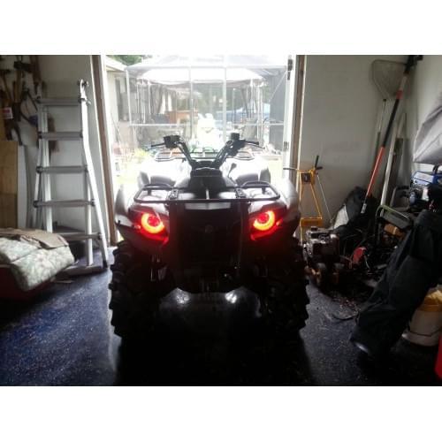 Ангельские глазки красные Yamaha Grizzly 550/700