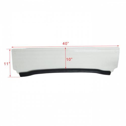 Стекло лобовое 1/2 для Polaris RZR 800/900/570 Kemimoto